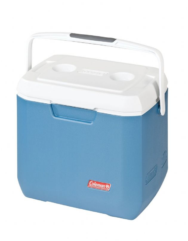 Coleman 28 Quart Xtreme Cooler / Coolbox - Blue,  Camping & Fishing Cool box - Grasshopper Leisure